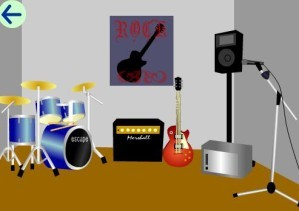 Escape from music studio