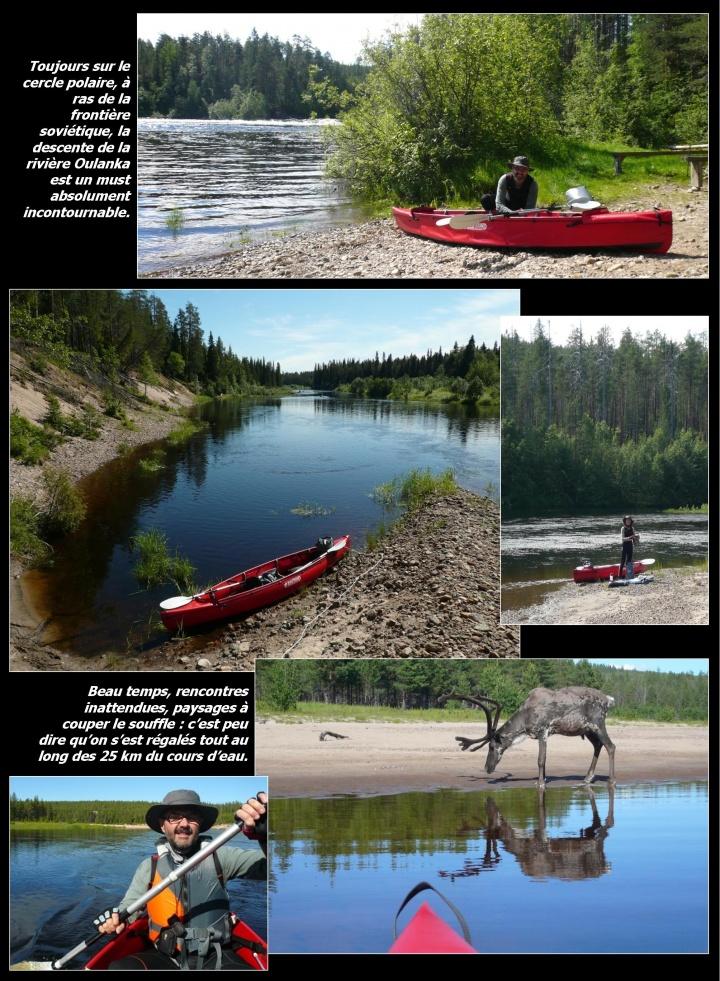 Eté 2012 : zénitude et canoë chez les vikings