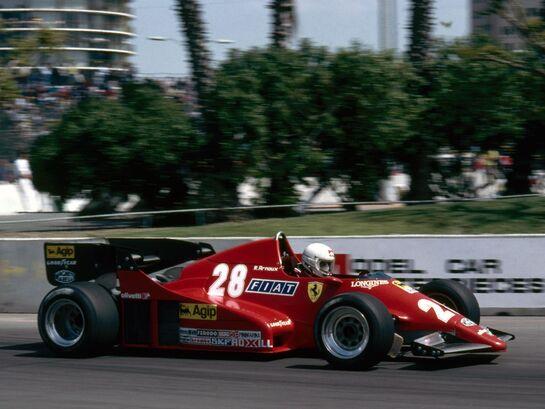 René Arnoux F1 (1983