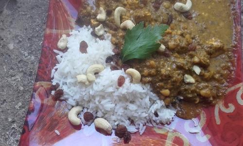 """Palak Paneer ou Curry d'Epinards au """"Fromage"""" {Vegan}"""