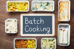 Batch cooking : recettes, menu et livres, on vous guide