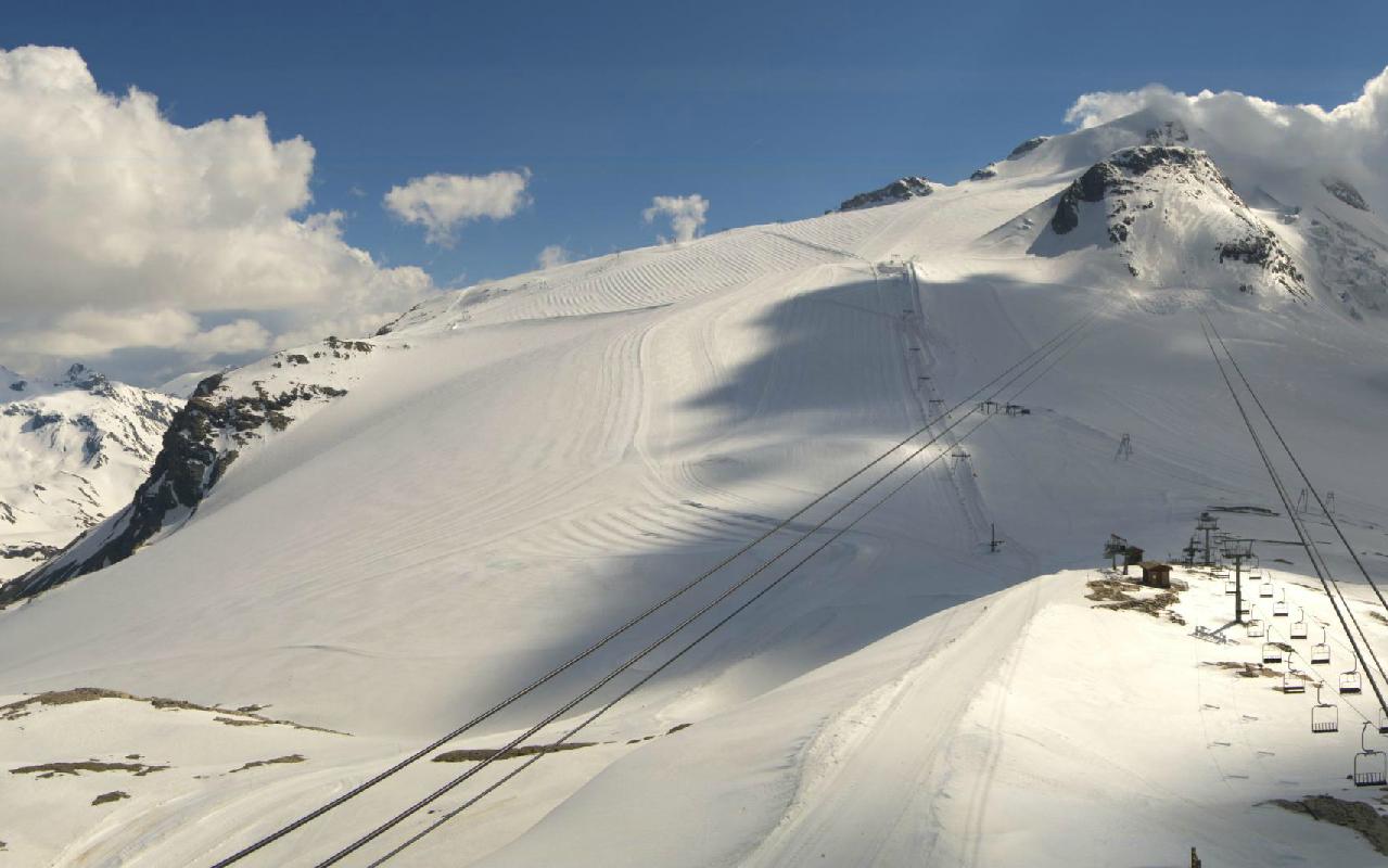 Le Glacier De La Grande Motte Le Suivi Au Coeur De La Montagne