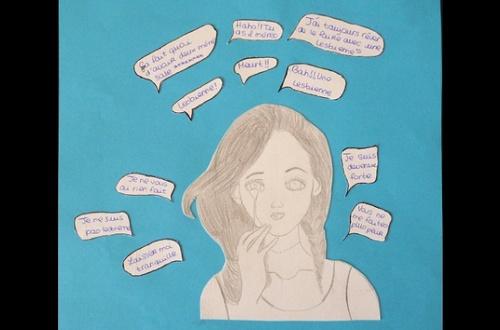 Productions artistiques des élèves de 3e5 en lien avec les lectures