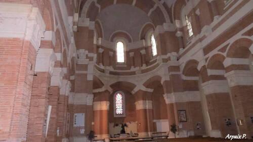 Pibrac 31820     2ème partie         La basilique Sainte Germaine