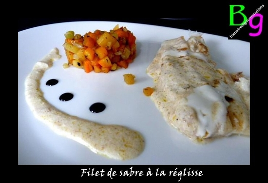 filet sabre réglisse
