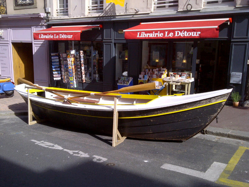 La librairie Le Détour