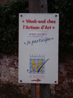 Week-end chez l'Artisan d'Art...