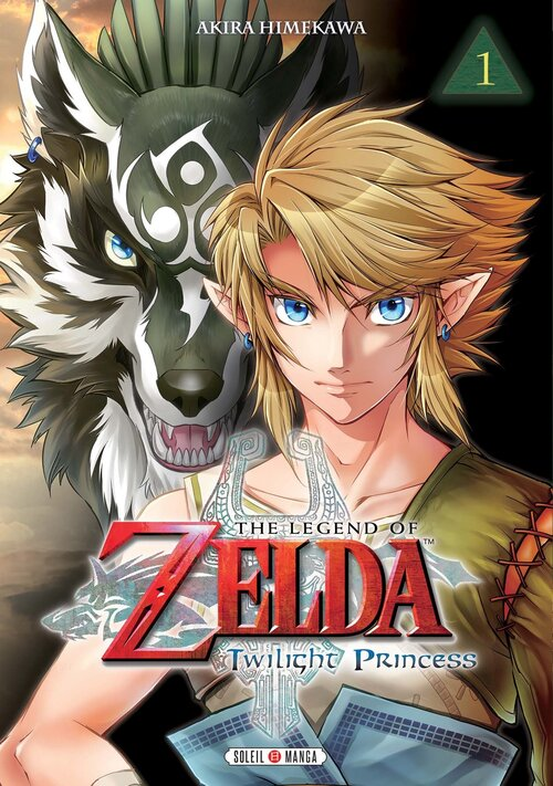 Sortie du manga The Legend of Zelda Twilight Princess Volume 1