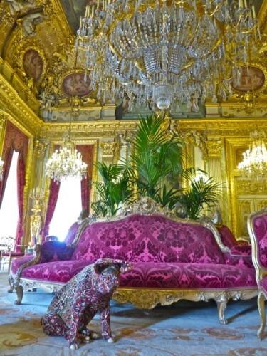 Wim Delvoye cochon grand salon Louvre 7