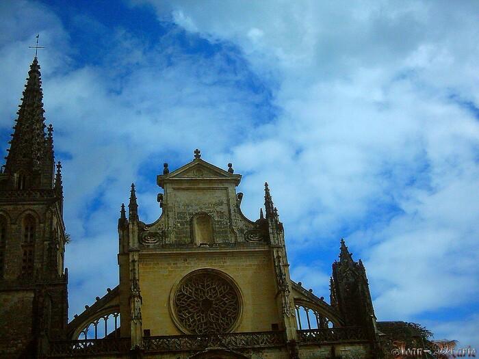 Léglise Saint-Jean-Baphiste de Bazas (gironde)