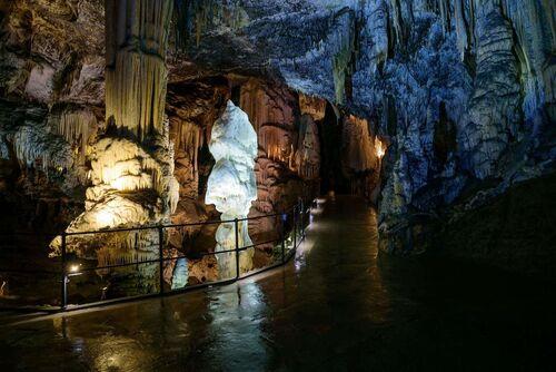 La grotte de Postojna