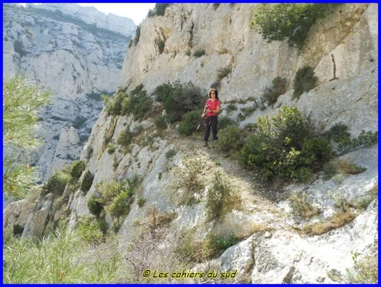 Marseilleveyre par le pas de la Cabre