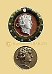 Dionysos, copie de monnaie ancienne - Arts et Sculpture: sculpteur, artisan d'art