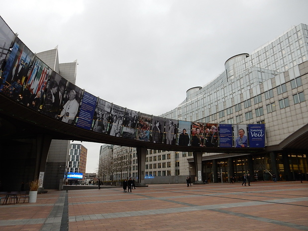 Autour du parlement européen