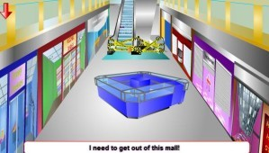 Escape from the mall