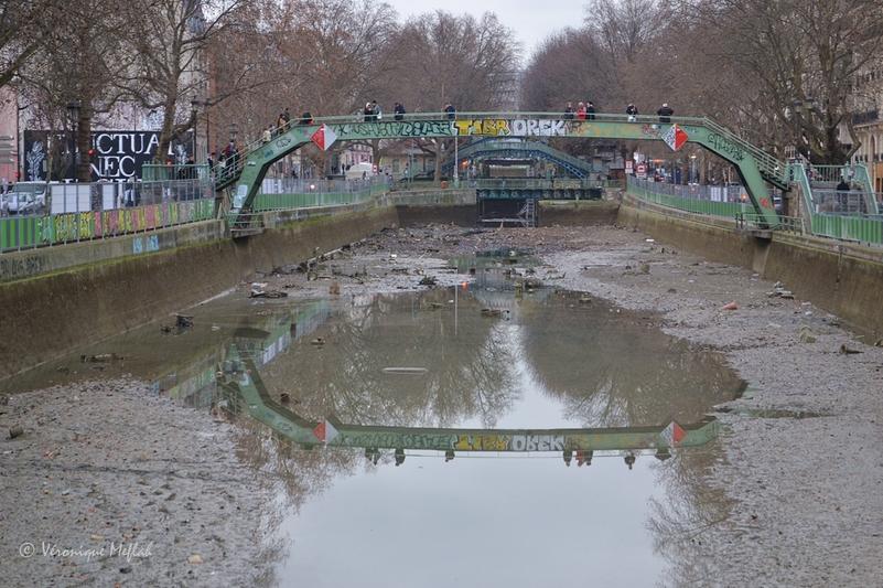 Grand nettoyage du Canal Saint-Martin ... suite