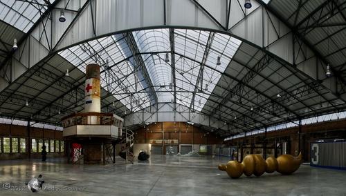 Meisenthal : la Halle Verrière