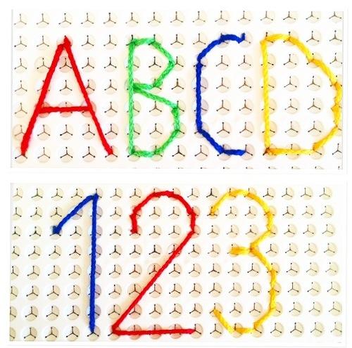 Modèles Picfil lettres et chiffres