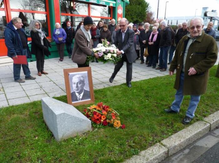 Hommage à Alfred Locussol à Alençon assassiné par l'OAS *** Articles Ouest-France et L'Orne-Hebdo *** Intervention de Jean-François GAVOURY