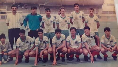 BENMESSAHEL Redouane MCA Cadets 1987-1988