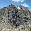 Du sommet de la Puntal de Secús, le Visaurin