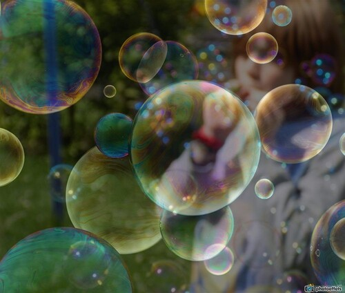 Il y a bulle et bulle