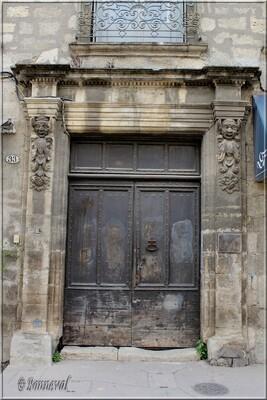 Pézenas Hérault Hôtel de Latude 17ème siècle