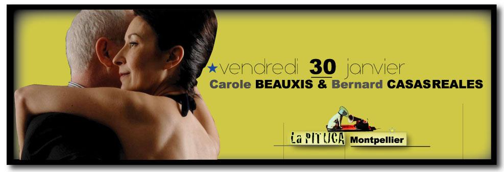 ★ Demain vendr. 30/1 soirée milonguero à LA PITUCA > démo de C. BEAUXIS & B. CASASREALES ★