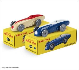 Les 2 Autos de course réf. 23 A Dinky Toys - Hors-série
