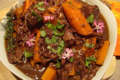Joues de bœuf aux carottes