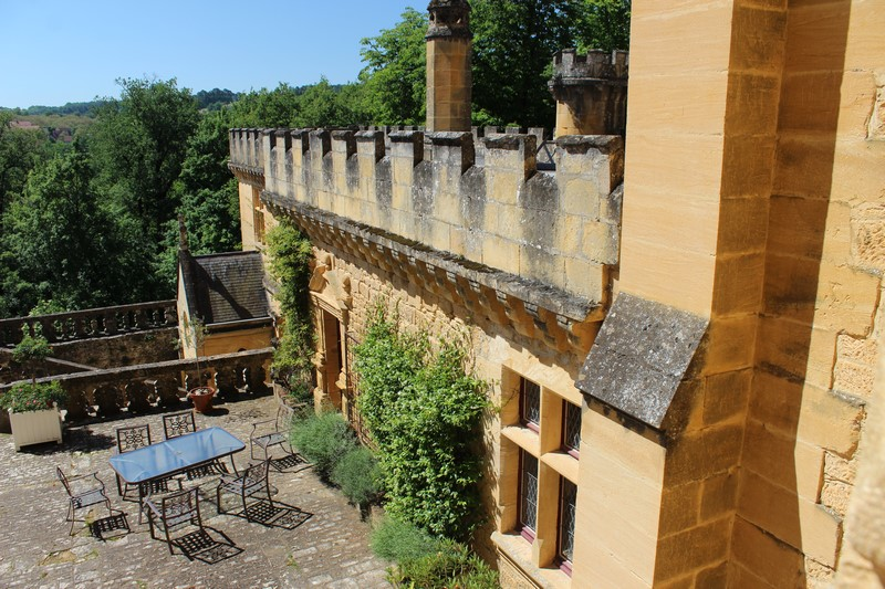 Extérieur du château de Puymartin