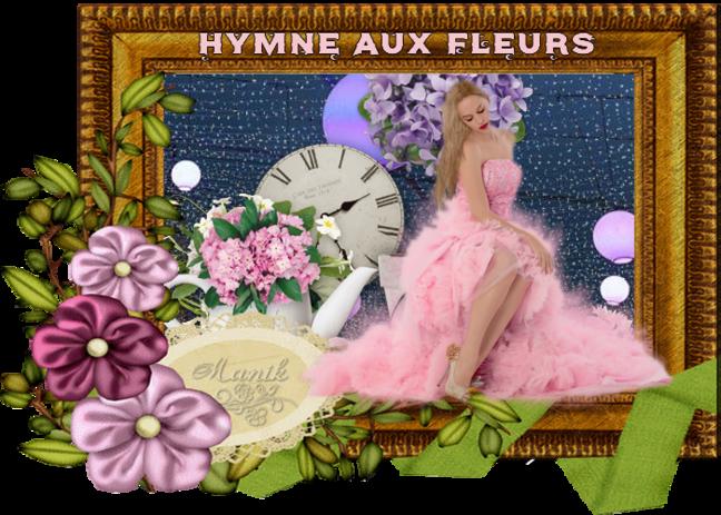 défi  pour Marjolaine Hymne aux fleurs & Miss satine Camera !