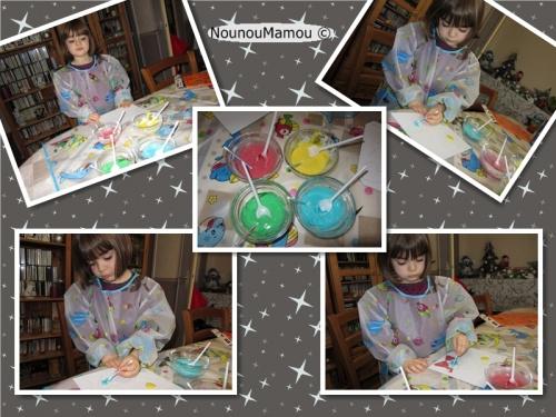 Peinture qui gonfle