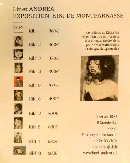 De beaux portraits de Kiki de Montparnasse réalisés par Linet Andréa...