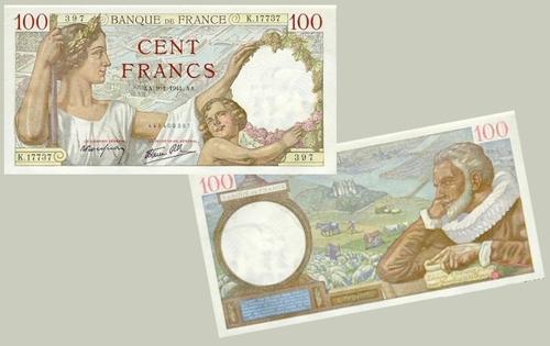 Retour sur 100 ans de billets en franc