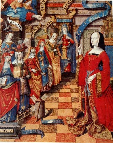 Anne de Bretagne et les vertus