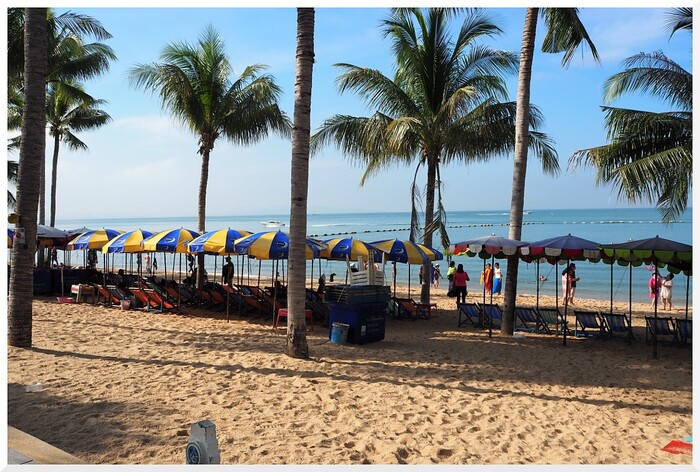Jomtien Pattaya Beach