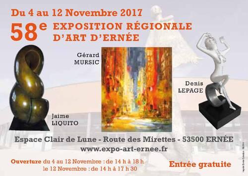 58ème EXPOSITION REGIONALE D'ERNEE (53500)