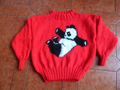 Panda devant