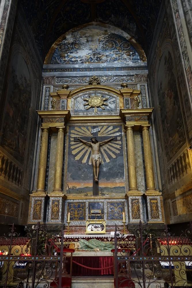 La cathédrale Sainte-Cécile, à Albi : orgue et fresques...
