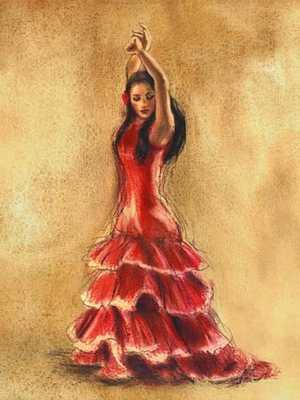 La séduisante flamenco