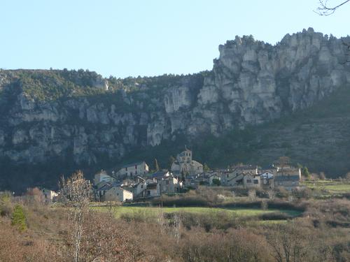 Site et village.