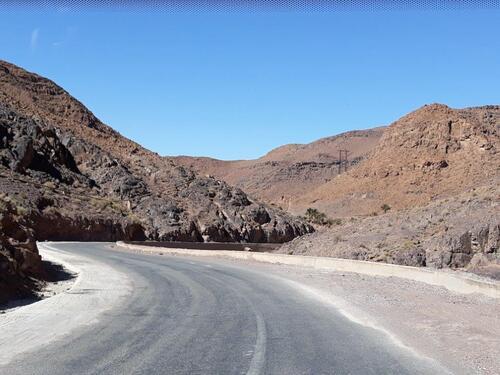 En route pour Agadir....