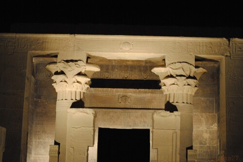 Le spectacle au Temple de Philae.