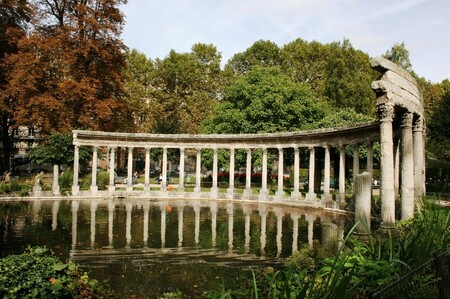 Les mille trésors du parc Monceau