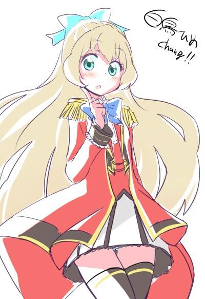 Image de anime girl, beautiful, and cute