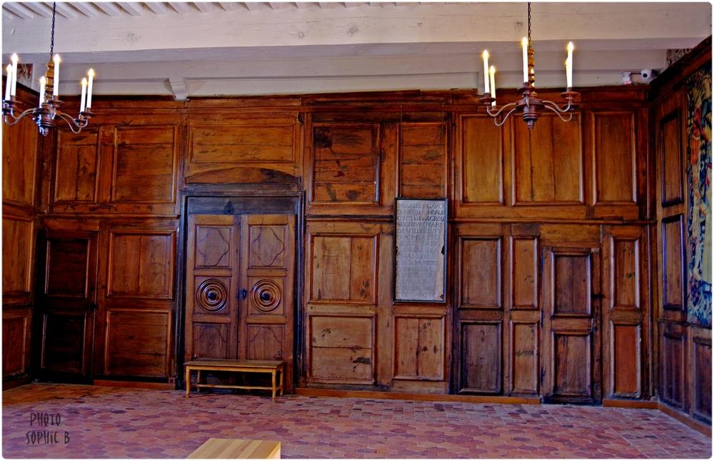 Intérieur du château de Villeneuve- Lembron .Suite et fin .