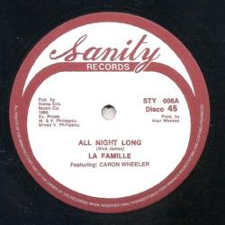 La Famille Feat. Caron Wheeler - All Night Long