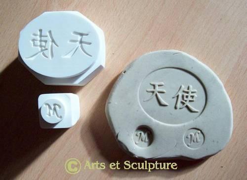 Tampons pour céramique personnalisés
