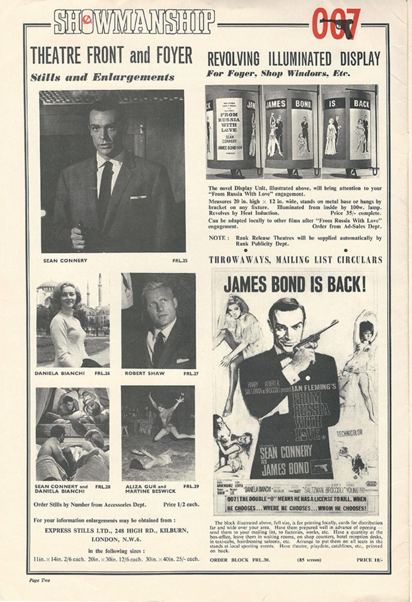 BOX OFFICE USA DU 6 AVRIL 1964 AU 12 AVRIL 1964